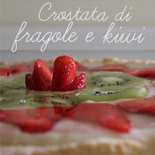 tutorial crostata di fragole e kiwi me creative inside
