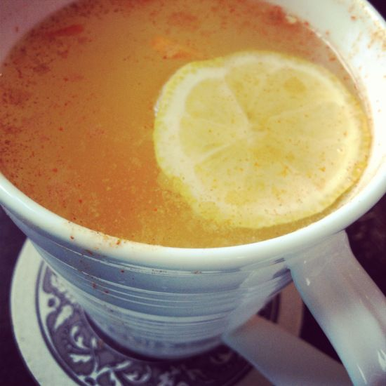 Morning Glow: Hot Water with Lemon & Other Healthy Habits