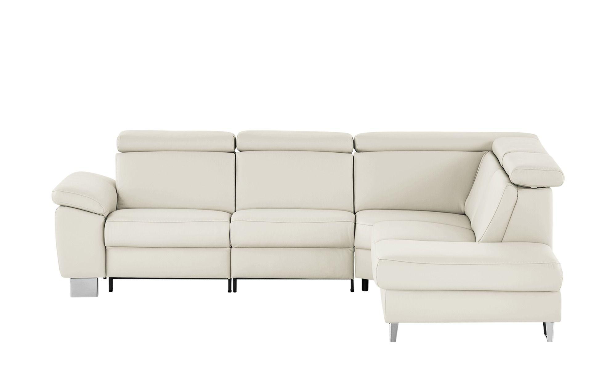 Meinsofa Ecksofa Beata Weiss Polstermobel Sofas Ecksofas Hoffner Kunstleder Couch Couch Gunstig Sofa Design