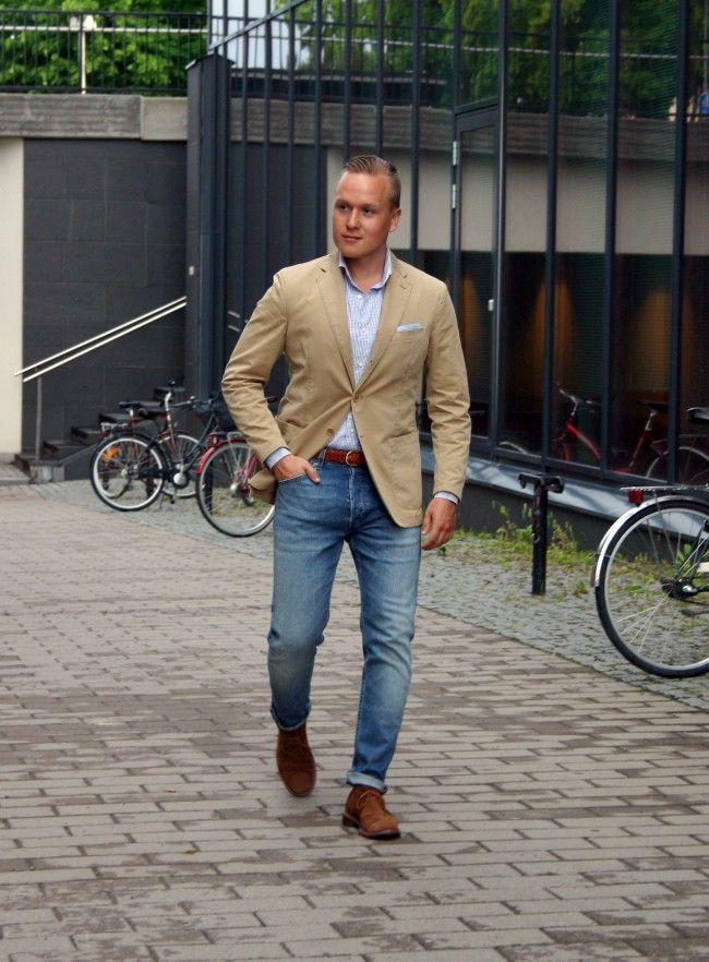 Casual Denim Look men fashion lookbook nordic jenas | Street Style ...