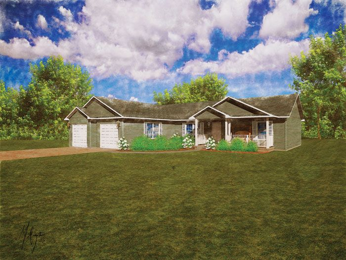 Modular Home The Fenwick 3 Bedroom 2 Bath 1665 Sq Ft Ranch Modular Homes House Design House Styles