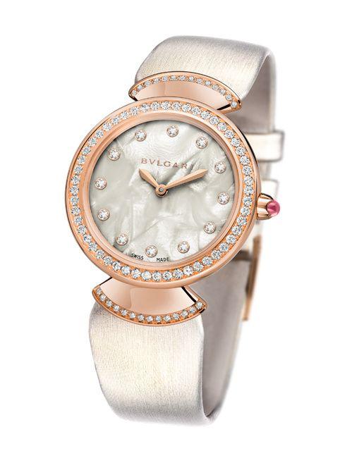 La montre Diva de Bulgari   Tick,tock! Time after time!   Pinterest ... 38d324d96d1