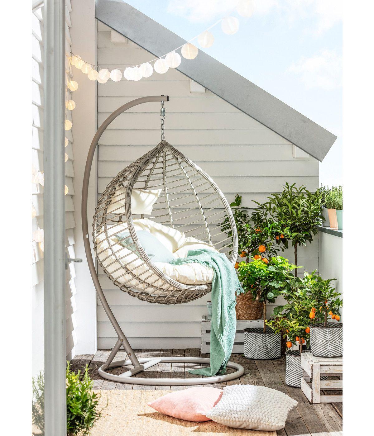 Dehner Hangesessel Mauritius Dehner In 2020 Hangesessel Garten Gartensessel Wohnung Balkon Dekoration