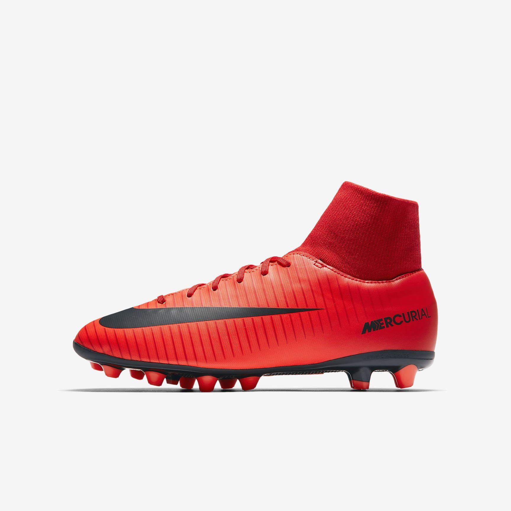 51c76e17f9 Chuteiras de futebol para relva artificial Nike Jr. Mercurial Victory VI  Dynamic Fit AG-PRO para criança Júnior