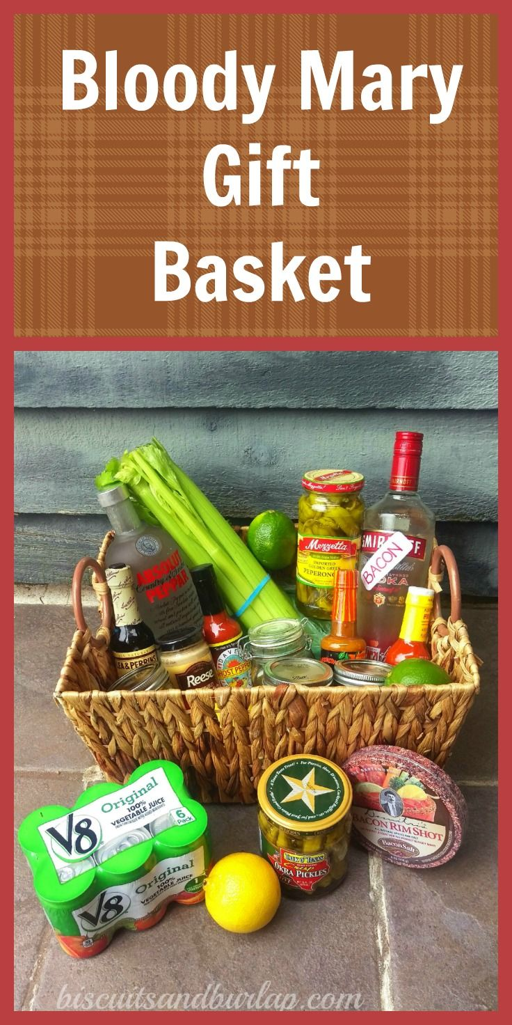 Awesome Click Over For The Bacon Vodka Recipe. Itu0027s The Crowning Touch To The  Bloody Mary Gift Basket.