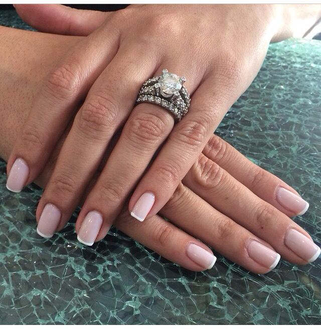 Skinny French Tips French Nails French Tip Nails French Tip Nail Designs