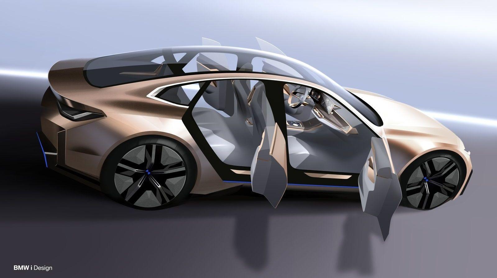 2020 Bmw I4 Concept In 2020 Bmw Concept Bmw Concept Car Bmw