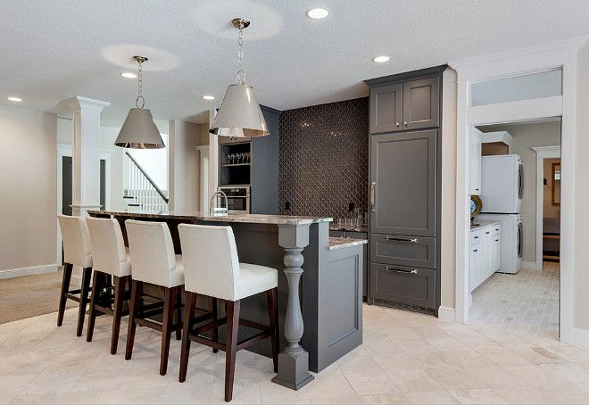 gray cabinets and wall color ideas walls are painted in on basement bar paint colors id=98897