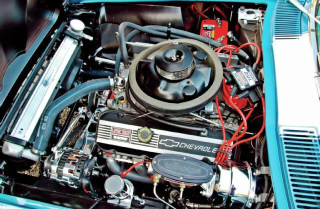 1966 Chevrolet Corvette Engine Autos Antiguo 2 Pinterest