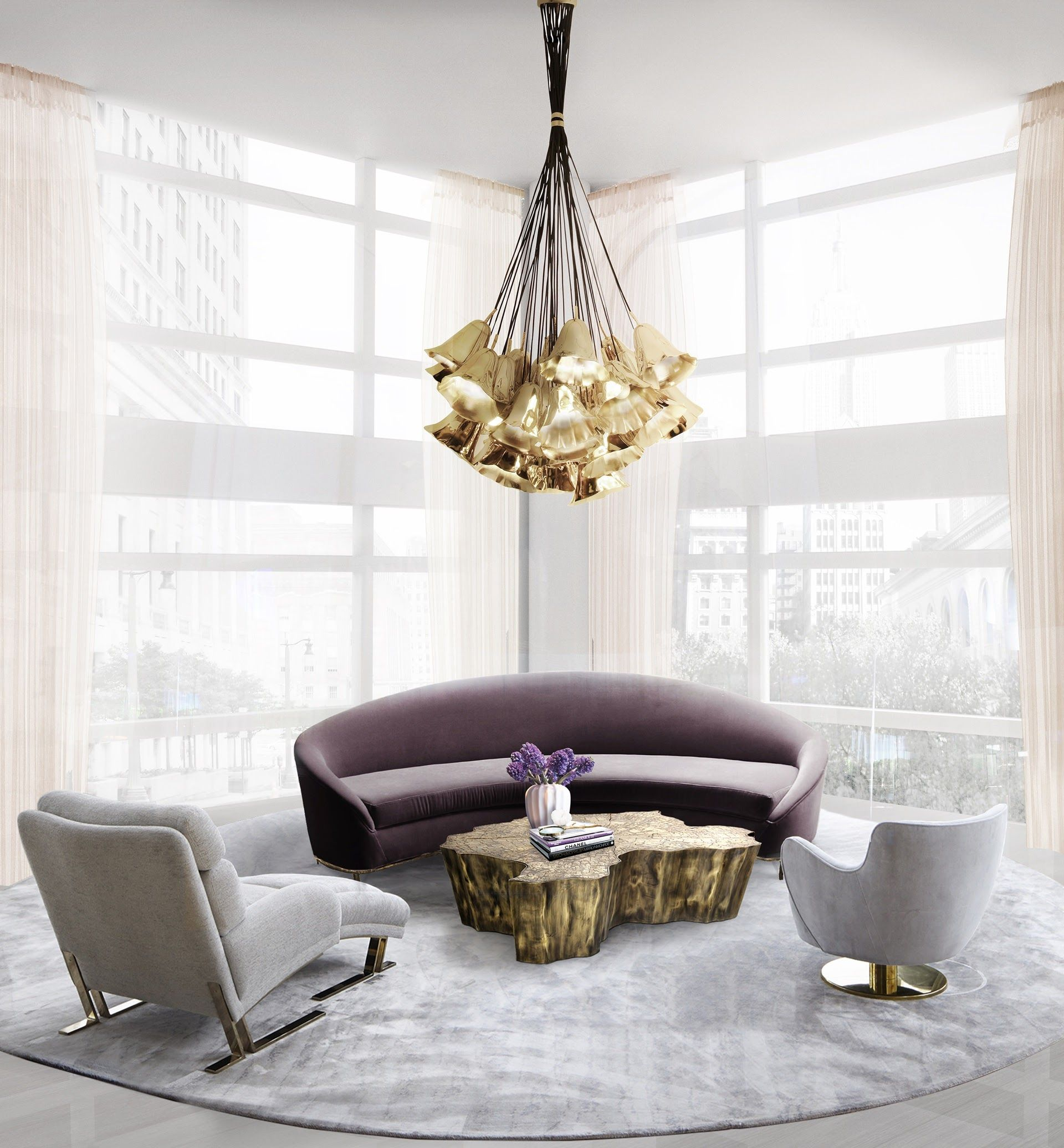 Shopping guide bespoke chandeliers to make your home sparkle to interior design shop arubaitofo Images