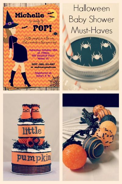 Halloween Baby Shower Items Pregnancy And Parenting On Pinterest