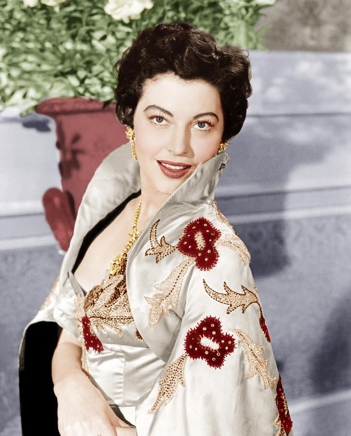 The Barefoot Contessa image detail for -contessa, ava gardner, 1954 photograph - the