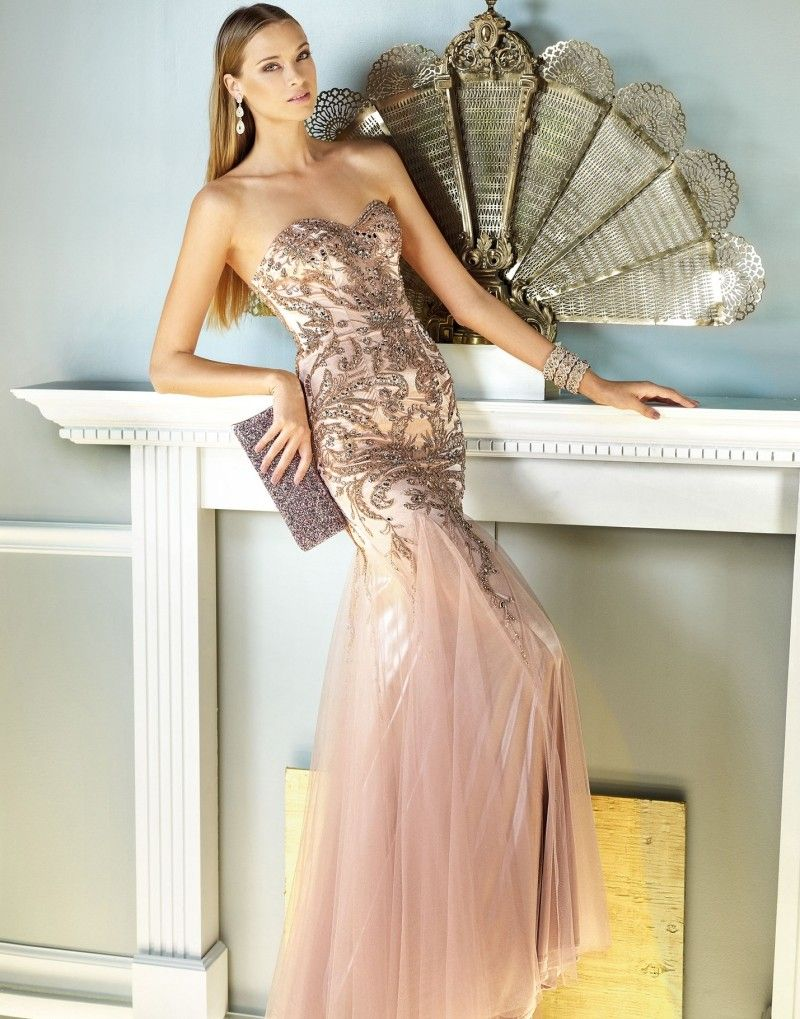 Robe bustier nouvel an