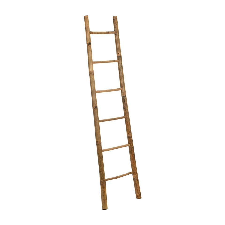 Houten Ladder Xenos.Decoratieve Ladder Bamboe Xenos Kids Room Ladder Bamboe En