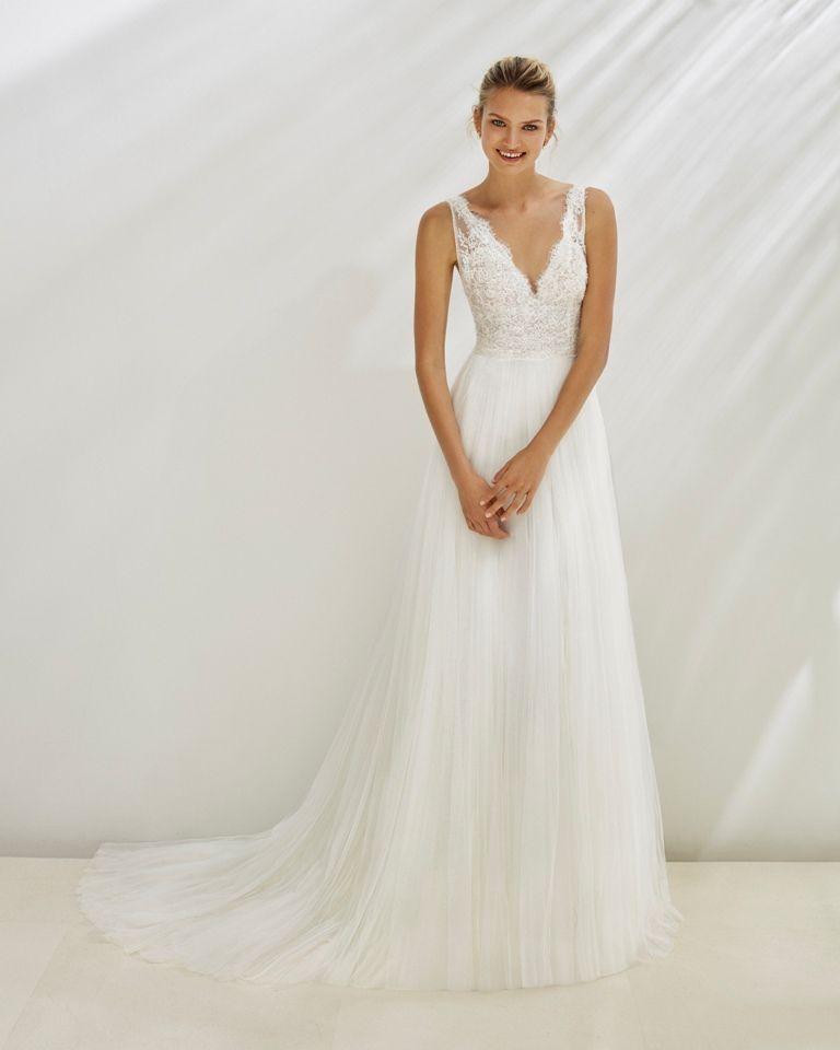 encontrado en Happy Brautmoden vestido de novia elegante, elegante vestido de novia, Aire Bar …