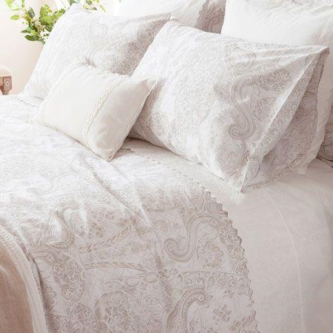 sÁbanas y fundas satÉn estampado - sábanas y fundas - cama   zara