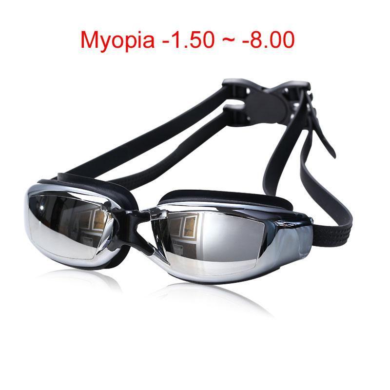 e669554a36 Adult Professional myopia Swimming goggles men arena diopter Swim Eyewear  anti fog swimming glasses natacion water glasses. Yesterday s price  US   7.98 ...