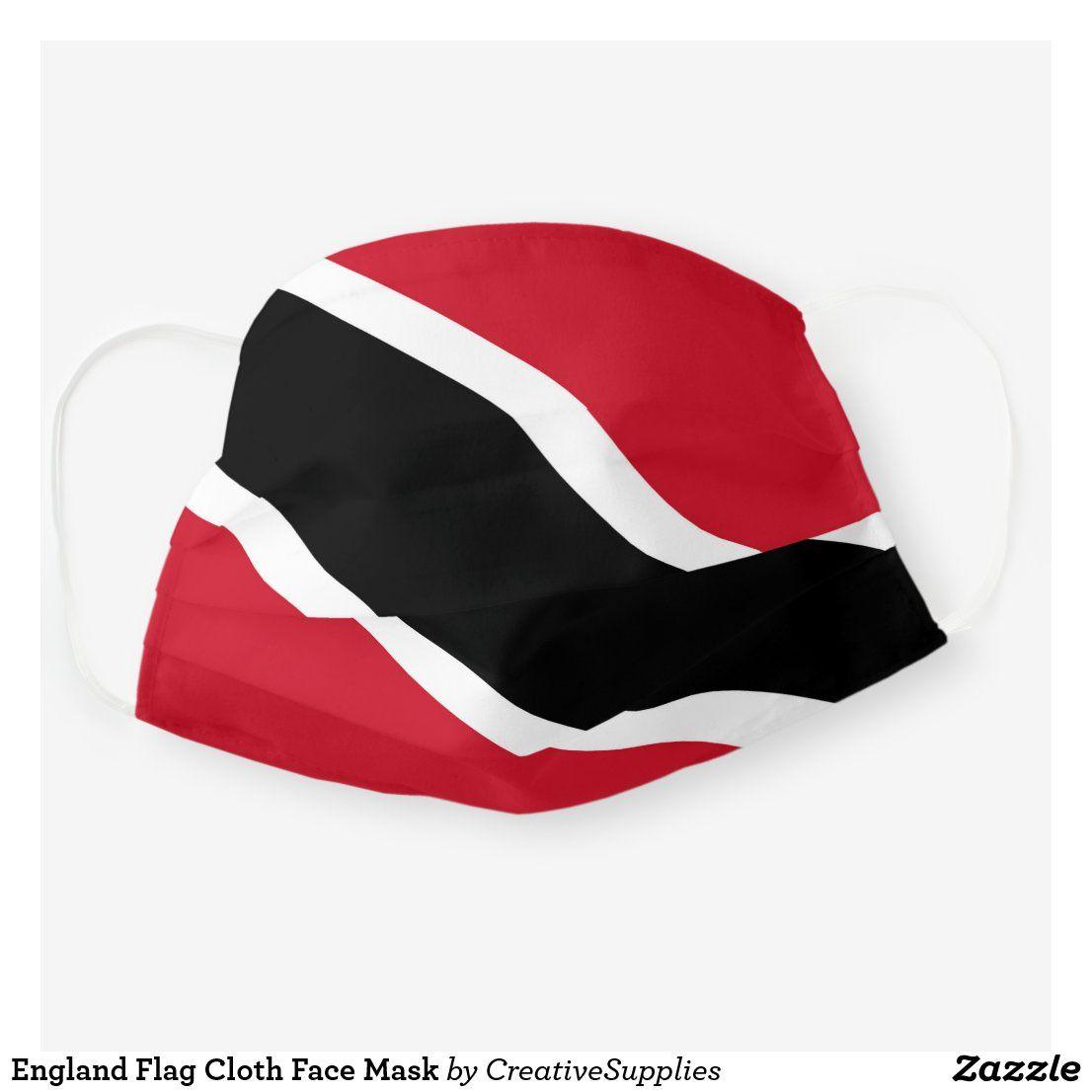 Trinidad Flag Cloth Face Mask Zazzle Com In 2020 Trinidad And Tobago Flag Tobago Flag Face Mask