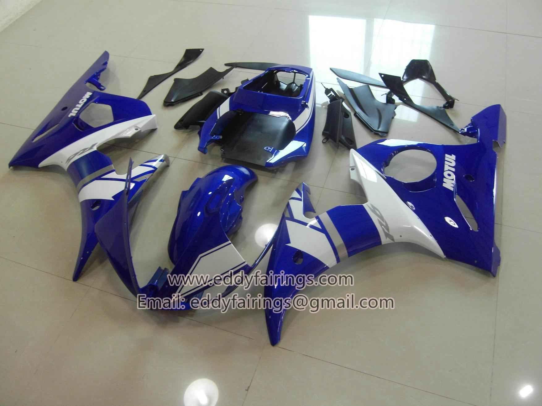 R6 03-05 BLUE&WHITE   Yamaha YZF R6   Pinterest   Yamaha yzf r6 and ...
