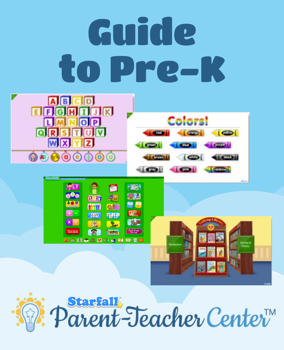 A guide to using Starfall\'s website and materials to support pre-k ...