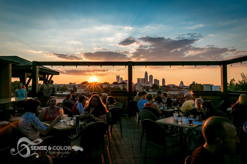 Charlotte Nc Rooftop View Of The City Restaurant Live Music