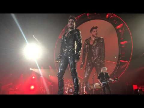 Queen & Adam Lambert Live Newcastle Arena 2015 Fat Bottomed Girls