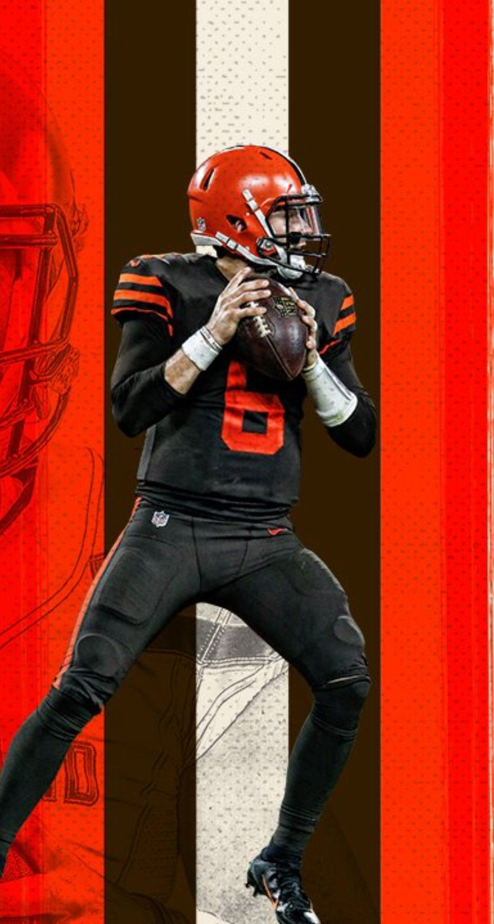 Cleveland Browns Wallpaper · Myles Garrett · Browns Baker Mayfield Cleveland Browns Football, Cleveland Browns History, Cleveland Rocks, Steelers Football