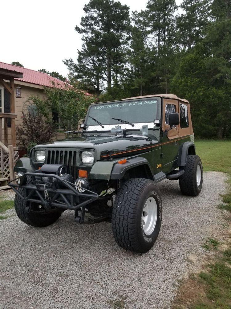 Ebay 1995 Jeep Wrangler Rio Grande 1995 Jeep Wrangler Rio Grande 4x4 Jeep Wrangler Jeep Wrangler