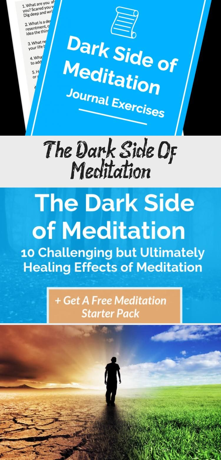 Learn about the dark side of meditation that people don't ...