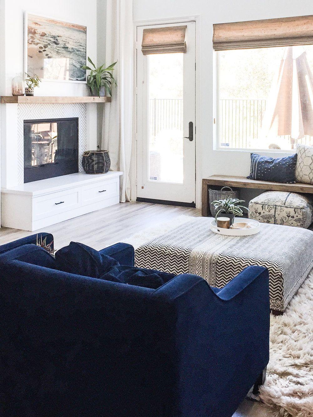 San Diego Boho Living Room / Angela Grace Design | angela grace ...