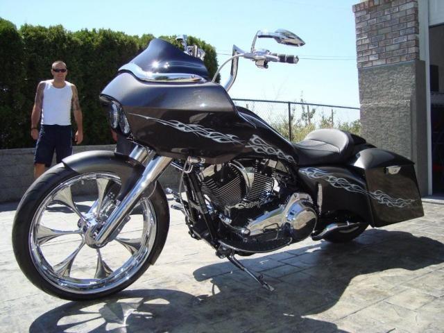 Roger Harris 09 Road Glide Harley Davidson Glide Harley Bagger Road Glide