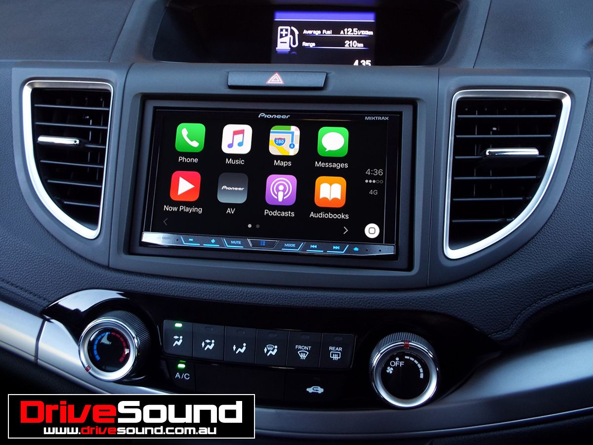 2015 honda crv with apple carplay installed by drivesound