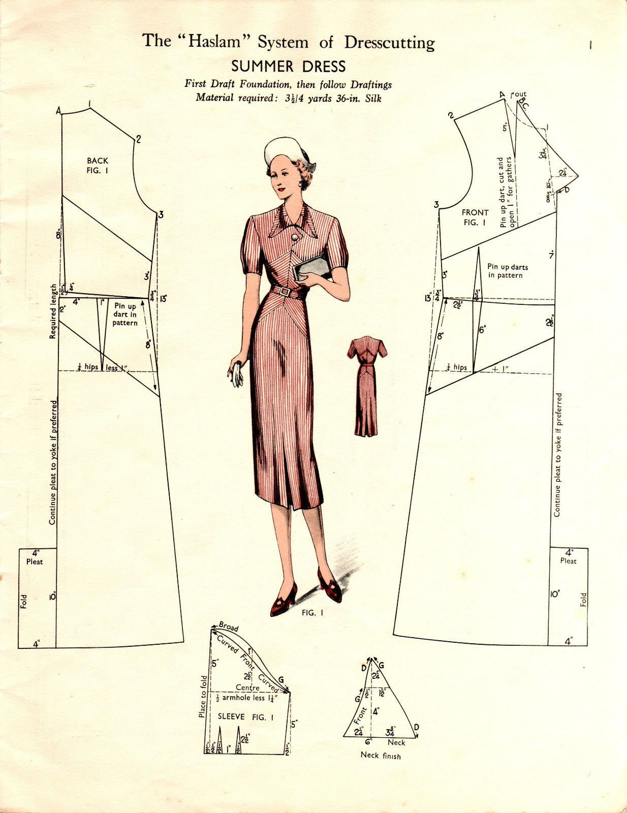 SAMPLER CD 9 Haslam Dresscutting 30s-50s Booklet Scans Fashion + ...
