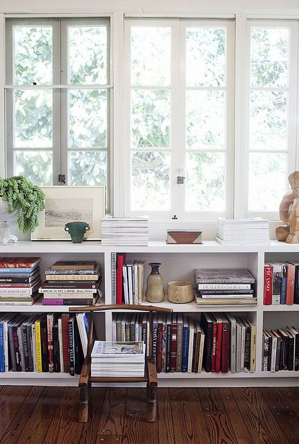 Window Book Shelves