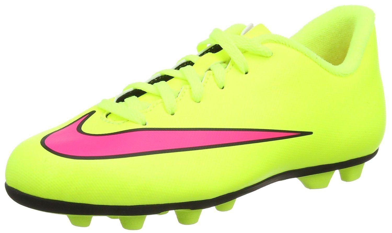 a5c1472eb8b3d Amazon.com: Nike JR Mercurial Vortex II Kid's Soccer Shoe (1 Youth M ...