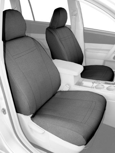 Caltrend Front Row Bucket Custom Fit Seat Cover For Select Saturn Vue Models Sportstex Light Grey Visit Th Custom Fit Seat Covers Jeep Seat Covers Seating