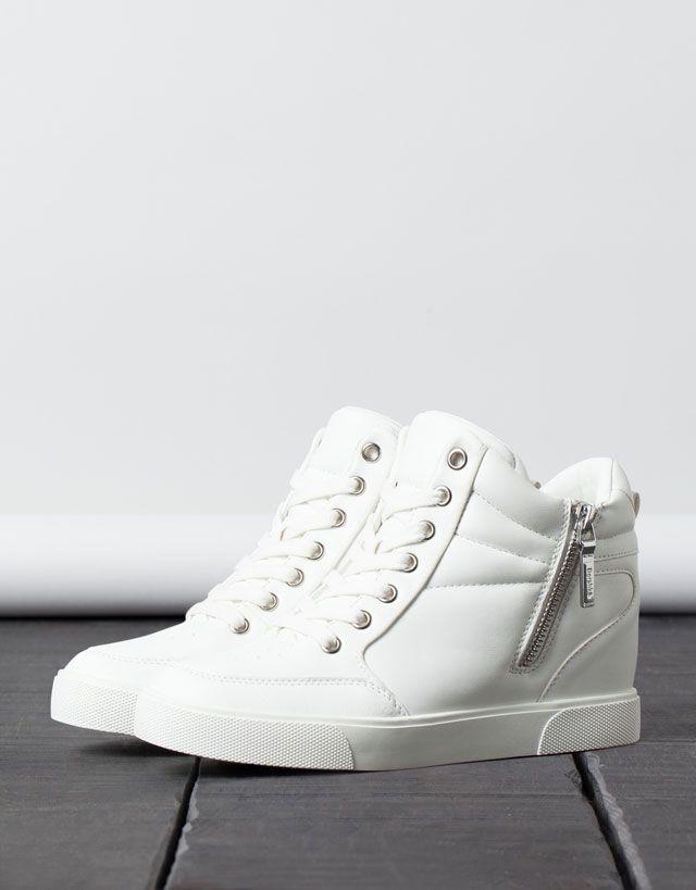 zapatillas con cuña interior adidas