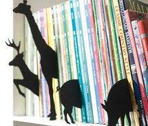 shelf markers.