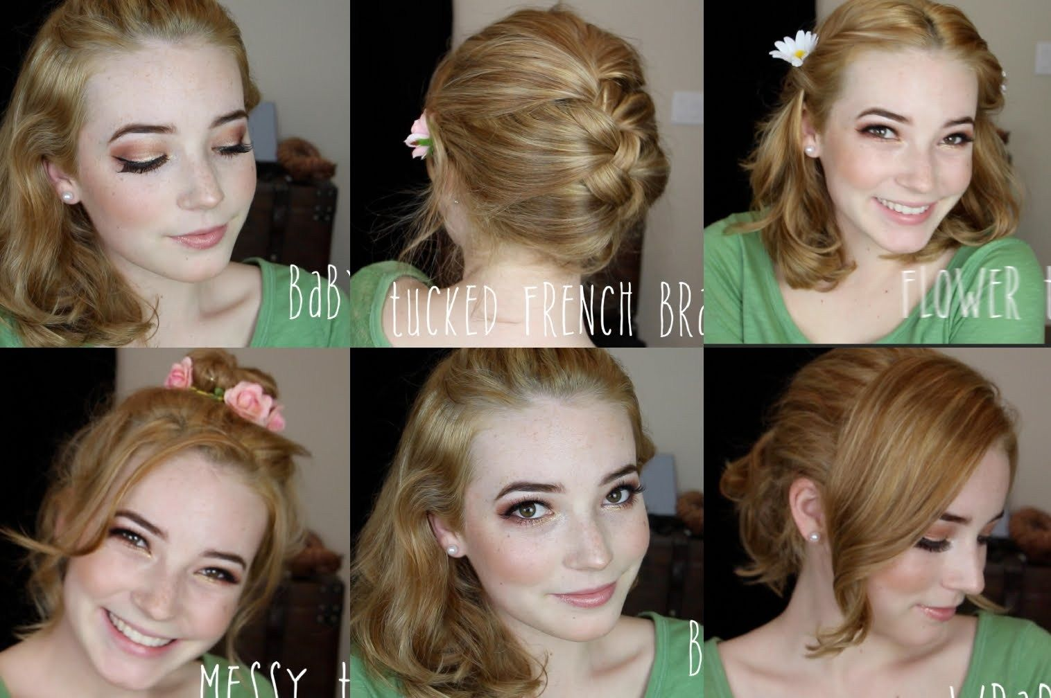 Quick And Easy Hairstyles For Medium Length Hair Cute Hairstyles