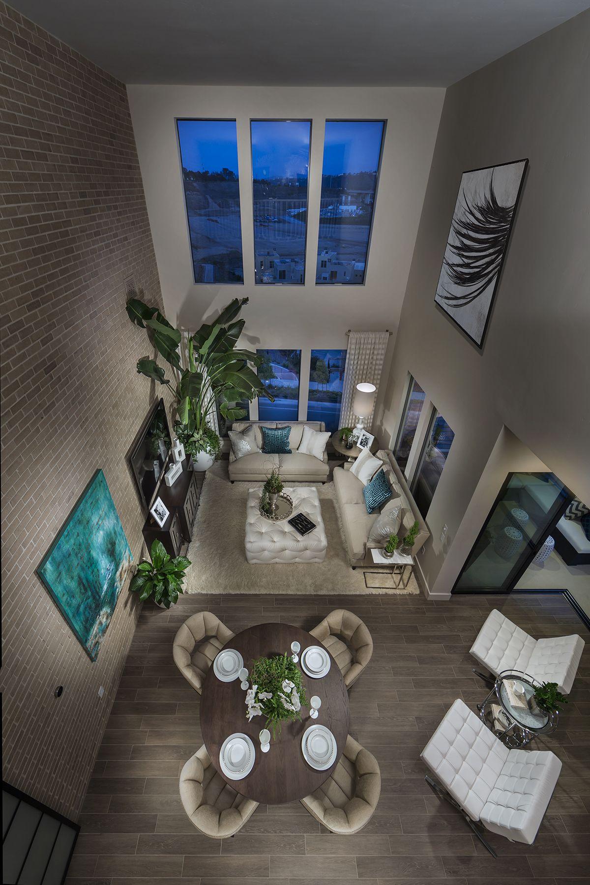 Plan 2- Penthouse! Loft Style Living Lucent. Shea Homes San Diego ...