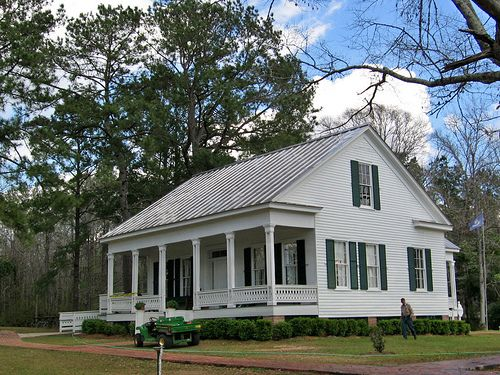 President S House At Centenary College Jackson Louisiana Acadian Style Homes President Houses French Cottage