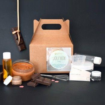 Soins Gourmands - 3 Joli'Recettes cosmétiques au chocolat à faire soi-même par joliessence.com