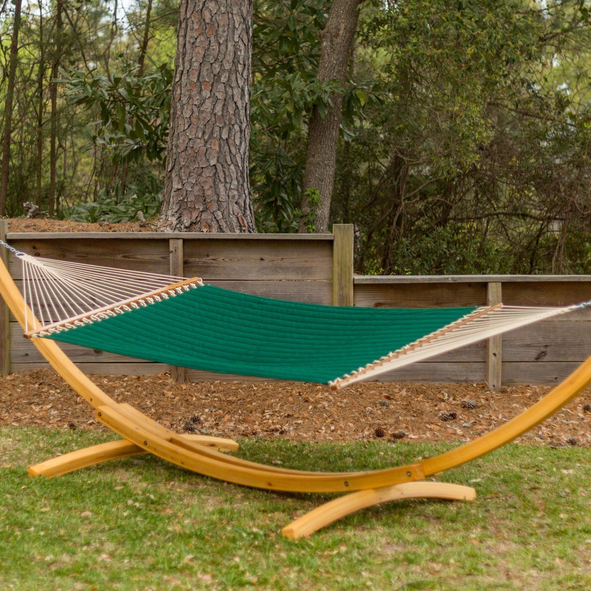 Patio Furniture Stores Near Boca Raton Fl: Large Quilted Fabric Hammock