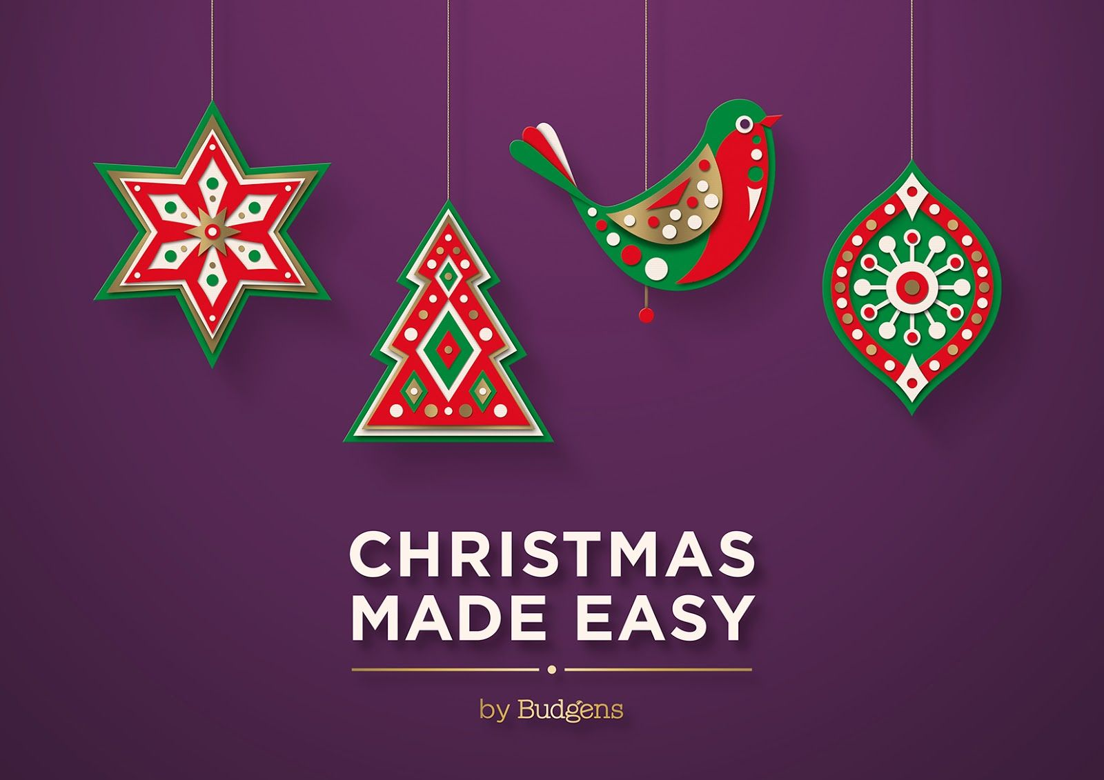 christmas made easy by budgens on packaging of the world - When Was Christmas Made