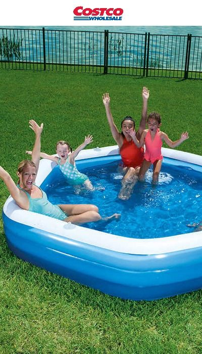 Bestway Family Fun Inflatable Pool Designed To Get Kids And