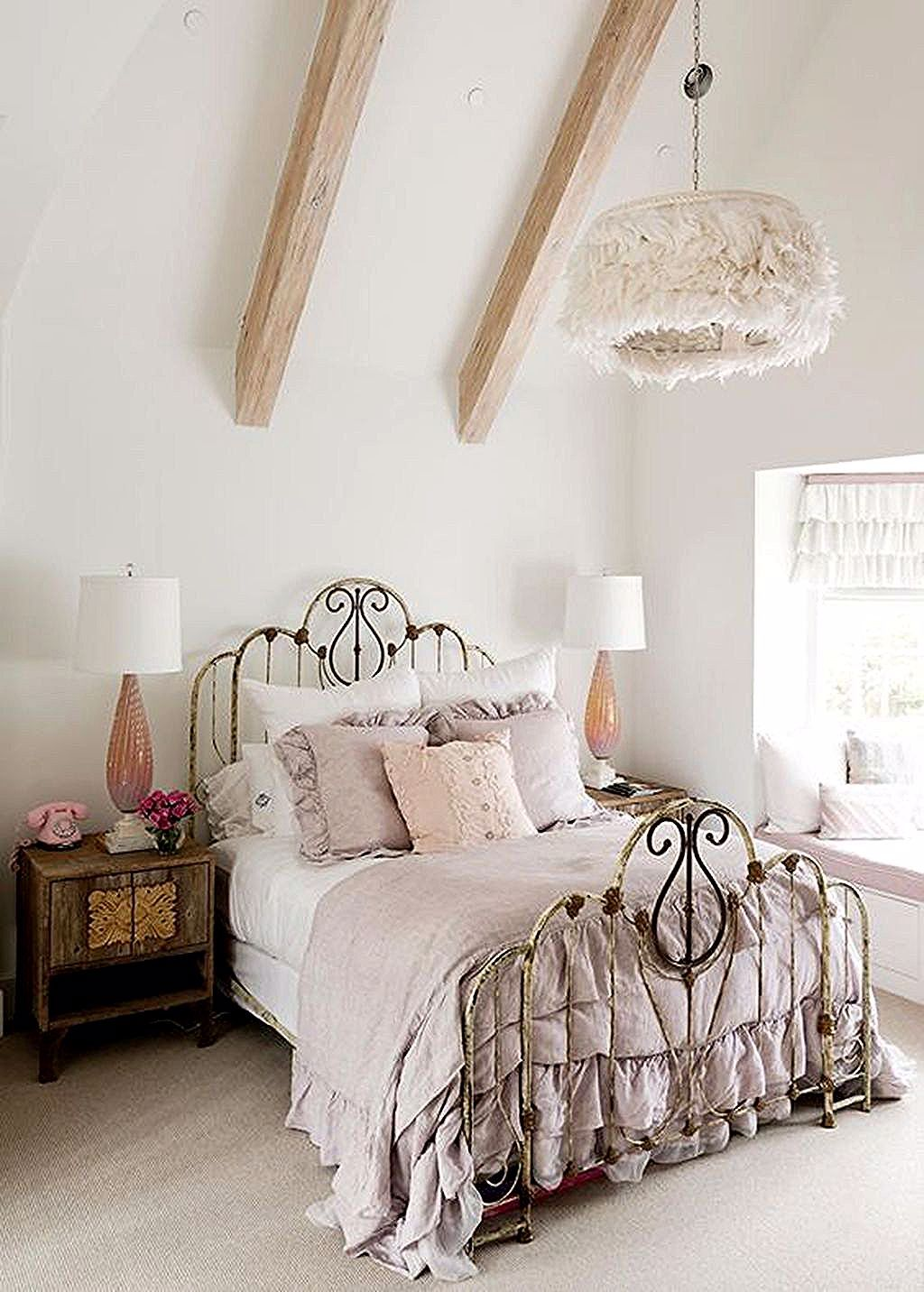 Ensembles De Chambre A Coucher Shabby Chic Romantic Bedroom