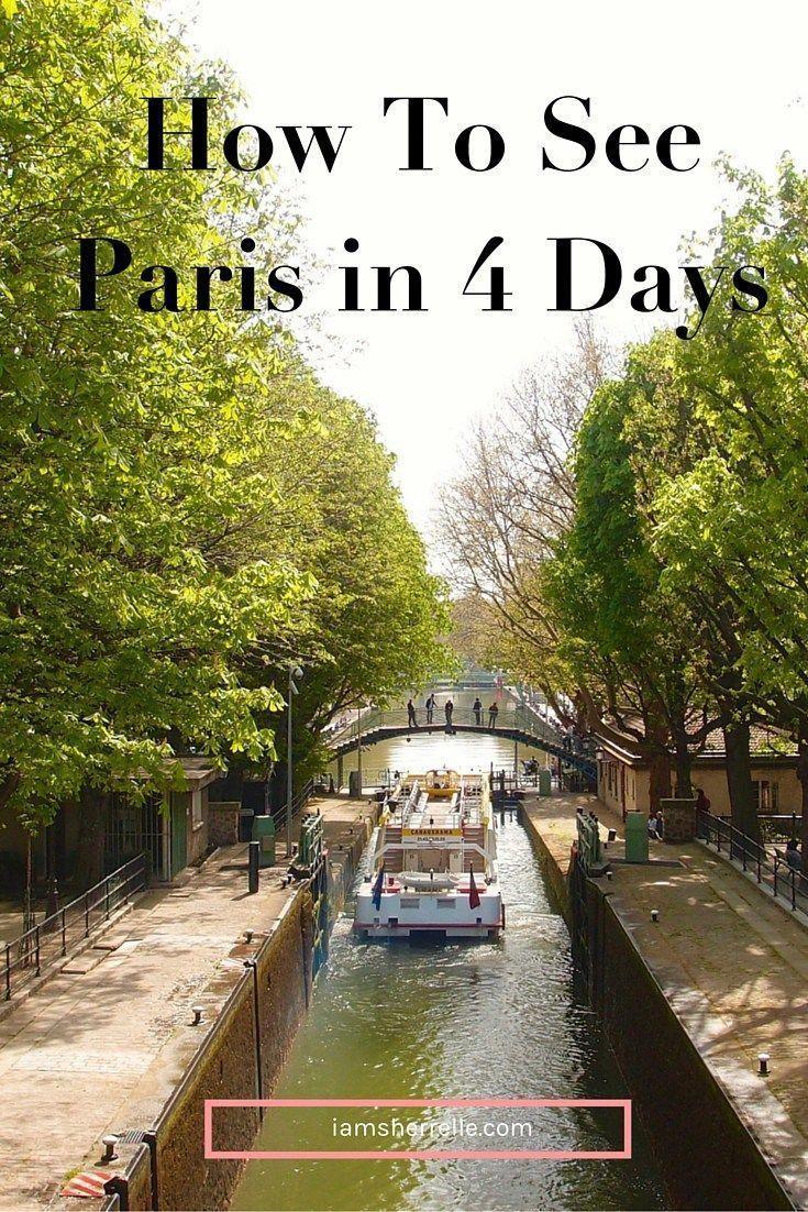 Reisen: Wie Sie Paris in 4 Tagen besuchen und einige der wichtigsten Sehenswürdigkeiten besichtigen, aber auch ...