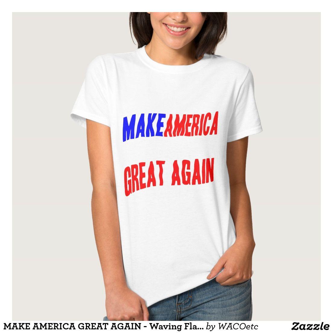 --- TRUMP Make America Great Again Women/'s T-Shirt President Donald Republican