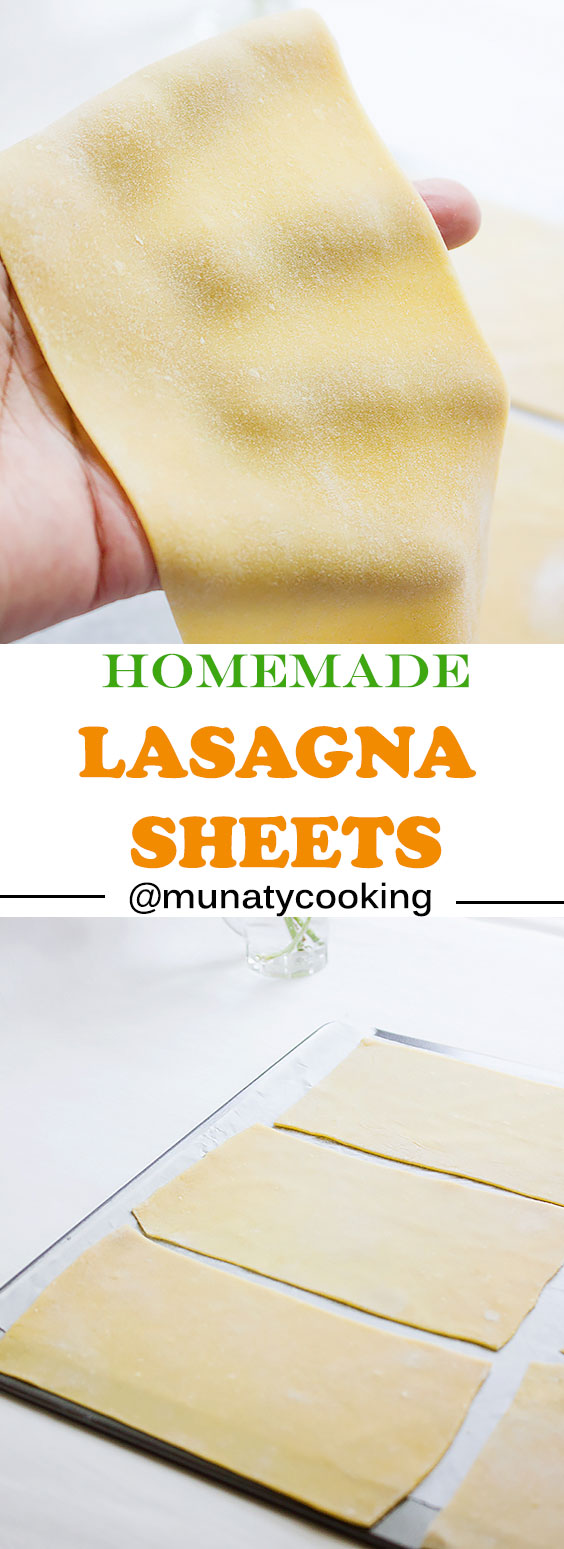 Homemade Lasagna Sheets Recipe Munaty Cooking In 2020 Homemade Lasagna Homemade Pasta Recipe Noodle Recipes Homemade