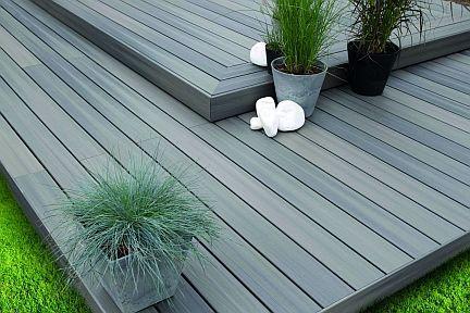Terrasse bois composite Terranova Xtrem Gris minéral Terrasse